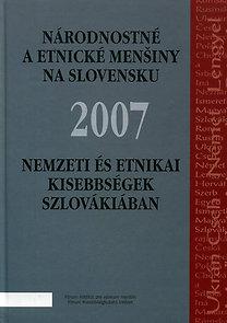 Lelkes Gábor, Tóth Károly: Nemzeti és etnikai kisebbségek Szlovákiában 2007
