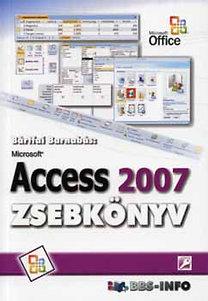 Bártfai Barnabás: Microsoft Access 2007 zsebkönyv