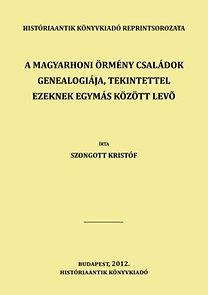 Szongott Kristóf: A magyarhoni örmény családok genealogiája