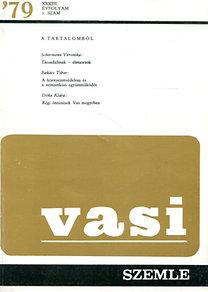 Horváth Ferenc (szerk.): Vasi szemle 1979/2.szám