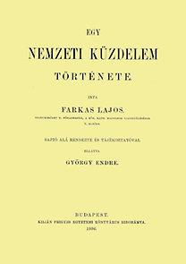 Farkas Lajos: Egy nemzeti küzdelem története