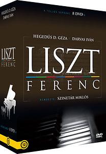 Liszt Ferenc élete - A teljes sorozat 8 DVD-n, díszdobozban