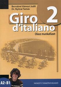 Bernáthné Vámosi Judit, Dr. Nyitrai Tamás: Giro d'italiano 2. Olasz munkafüzet - NT-56552/M