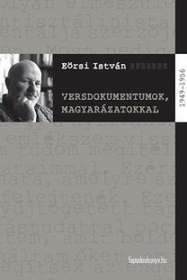 Eőrsi István: Versdokumentumok, magyarázatokkal