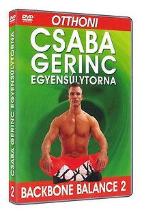 Csaba gerinc egyensúlytorna 2. - DVD