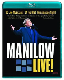 Barry Manilow: Manilow: Live! (Blu-ray)