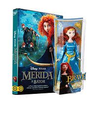 Merida, a bátor DVD + Merida baba (Mattel)