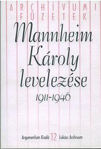 Sziklai László (szerk.): Mannheim Károly levelezése 1911-1946