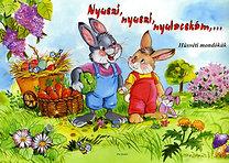 Nyuszi, nyuszi, nyulacskám... - Húsvéti mondókák
