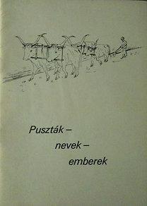 Vadas Ferenc: Puszták - nevek - emberek