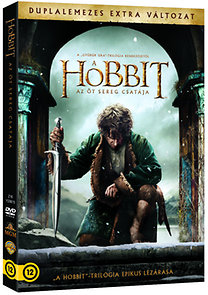 A hobbit: Az öt sereg csatája 2 lemezes változat - DVD