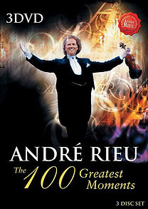 André Rieu: The 100 Greatest Moments (3DVD)