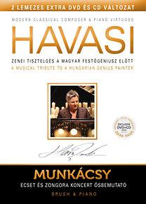 Havasi Balázs: Munkácsy - Ecset és Zongora (DVD+CD)