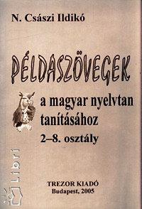 N.császi Ildikó: Példaszövegek a magyar nyelvtan tanításához