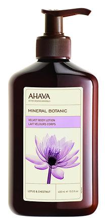 AHAVA Mineral Botanic testápoló lótusz-gesztenye 400 ml