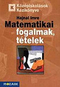 Hajnal Imre: Matematikai fogalmak, tételek