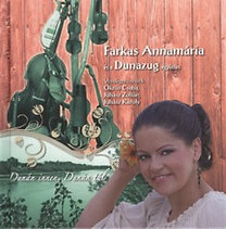 Farkas Annamária, Dunazug: Dunán innen, Dunán túl  - Könyv + CD