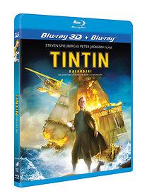 Tintin kalandjai (3D Blu-ray+Blu-ray)