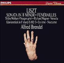 Alfred Brendel: Liszt: Sonata in B Minor / Funérailles