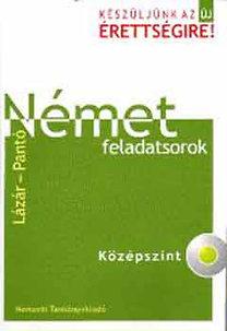 Lázár A. Péter, Pantó: Német feladatsorok - Középszint (CD-vel)