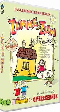 Zimme-zum - Oktató-képző DVD gyerekeknek - Tanuljunk játszva!