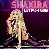 Shakira: Live From Paris (CD+DVD)