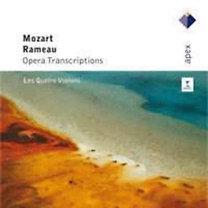 Mozart, Rameau: Mozart és Rameau átiratok négy hegedűre