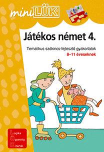 Török Ágnes (szerk.): Játékos német 4. - LDI-404