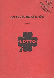 Lottóvariációk gyűjteménye- 255 variáció