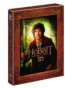 A Hobbit - Váratlan utazás - Bővített változat (3D Blu-ray - Lentikuláris)