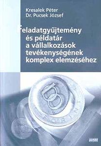 Dr. Pucsek József, Kresalek Péter: Feladatgyűjtemény és példatár a vállalk. tevék. komplex elemzéséhez - PR-659-P/07