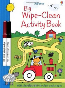 Sam Taplin: Big Wipe-Clean Activity Book