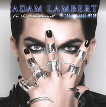Adam Lambert: For Your Entertainment (Tour Edition CD+DVD)