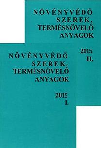 Molnár Jenő, Dr. Ocskó Zoltán, Dr. Erdős Gyula, Dr. Haller Gábor, : Növényvédő szerek, termésnövelő anyagok I-II. 2015